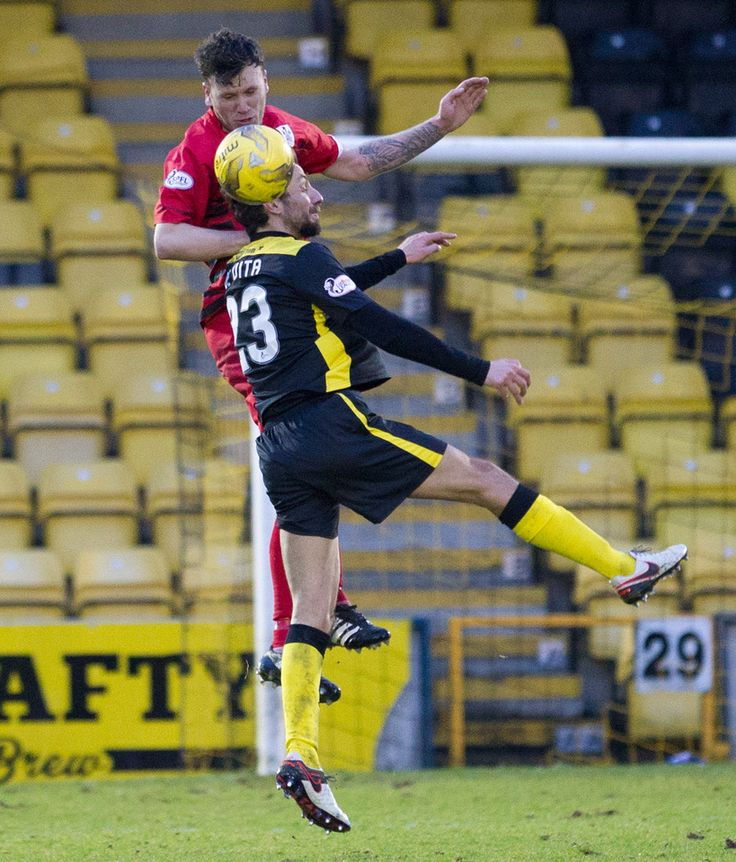 Queen's Park's Adam Cummins in action during the Ladbrokes League One game between Livingston and Queen's Park.