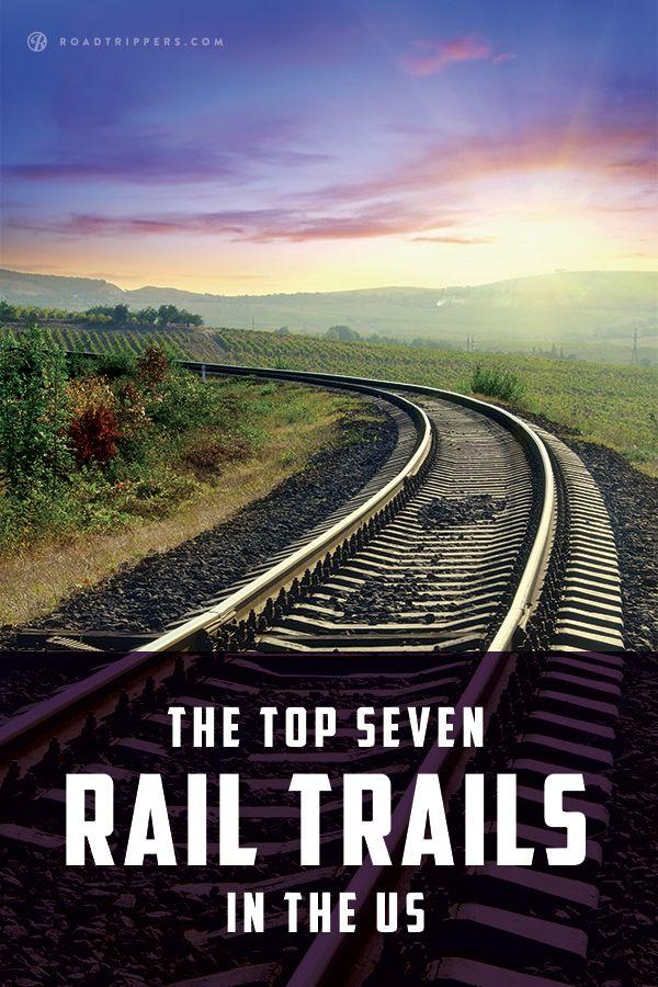 Hike or bike down one of these cool rail trails.