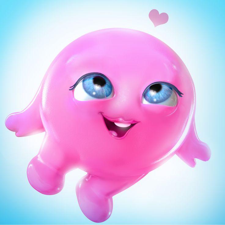 Character Mascot for a web app. Maya + Photoshop