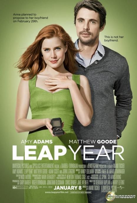 """May you never steal, lie, or cheat, but if you must steal, then steal away my sorrows, and if you must lie, lie with me all the nights of my life, and if you must cheat, then please cheat death because I couldn't live a day without you."" - Leap Year (2010)"