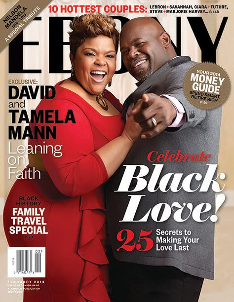 Ebony show us three different couple cover for February 2014: