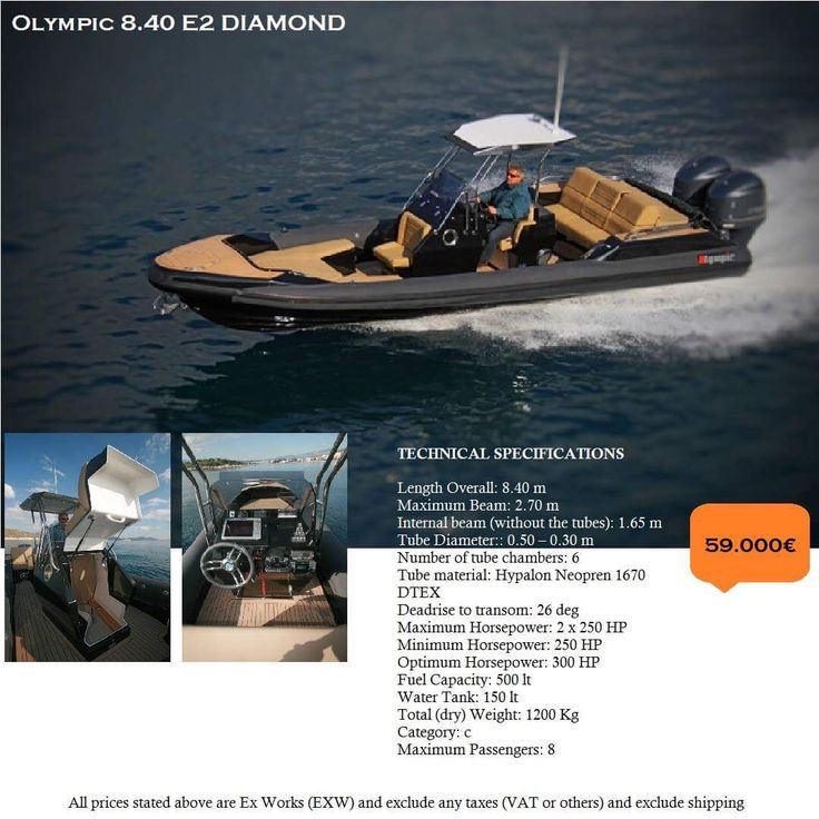Olympic 8.40 E2 DIAMOND...  ( 59.000€ )  Luxury  Powerful Family friendly RIB boats...  Make your RIB dreams come true..!   contact: info@hst.gr https://info864893.wixsite.com/merkatis-charis