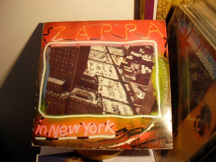 Frank Zappa Zappa In New York On Discreet Records 1979
