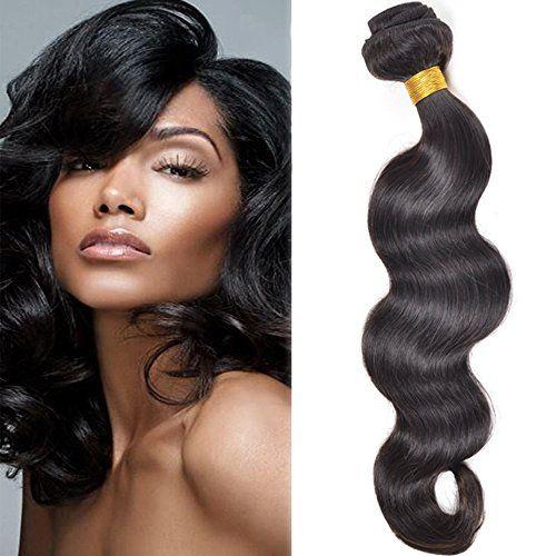 Sunny Les Tissages Meche Bresilienne Vierges Ondule(Body Wave) Cheveux Naturels Longueur 14 pouces/35cm – 100 grammes – Les Extensions de…