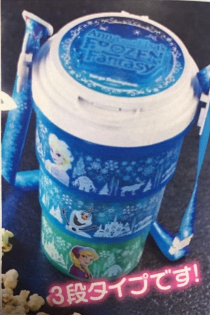 Disney Frozen Popcorn Bucket Tokyo Disneyland Anna and Elsa's Frozen Fantasy Toy | eBay