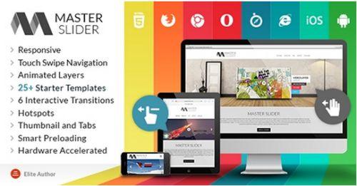 CodeCanyon - Master Slider v1.5.0 - Responsive Touch Swipe Slider