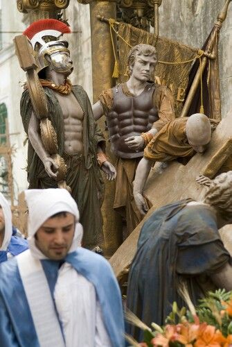 Good Friday procession, Procida Island, Naples, Campania