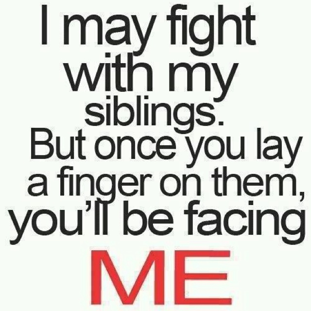 Sibling Love Quotes New 13 Best Sibling Quotes Images On Pinterest