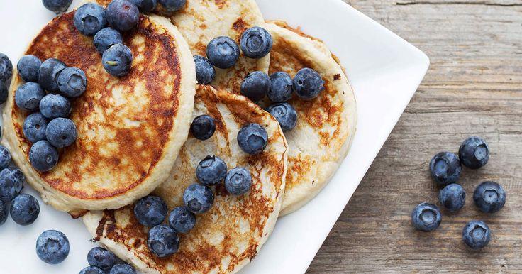 Smarrigt mättande pannkakor som älskas av (nästan) alla. Måste provas. Dessutom är den både glutenfri mjölkfri (om du väljer mjölkfritt stekfett).SmartPoints per portion: 5