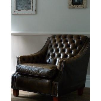 Club Chair - need deeper, squarer.