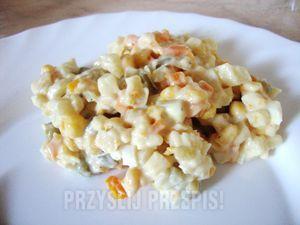Odchudzona sałatka warzywna