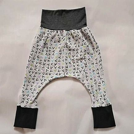 Have a little between six mos. and two yrs? Grab the grow with me pants - one size fits!