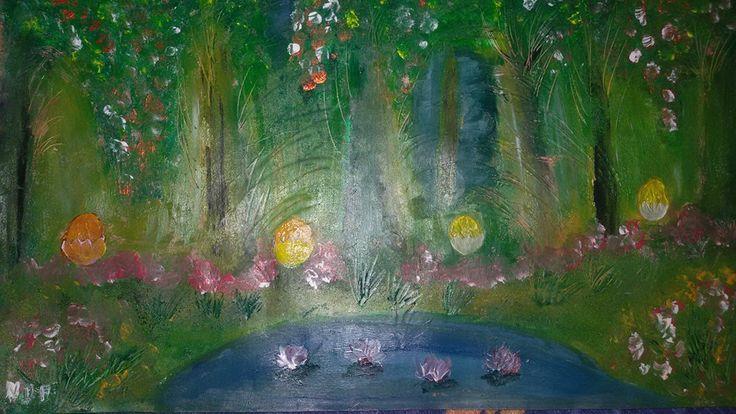 Peinture fait avec peinture a l'huile