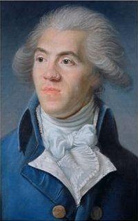 """Antoine Barnave, peinture de Joseph Boze, musée Carnavalet, Paris -Homme politique français (Grenoble 1761-Paris 1793). Avocat au parlement de Grenoble, il participe aux états du Dauphiné qui se réunissent de leur propre autorité au château de Vizille en juillet 1788 puis est envoyé aux Etats Généraux (1789). Eloquent et vite très populaire, il forme à la Constituante, avec Alexandre de Lameth et Adrien Duport, le """"triumvirat"""" qui représente l'aile avancée des patriotes."""