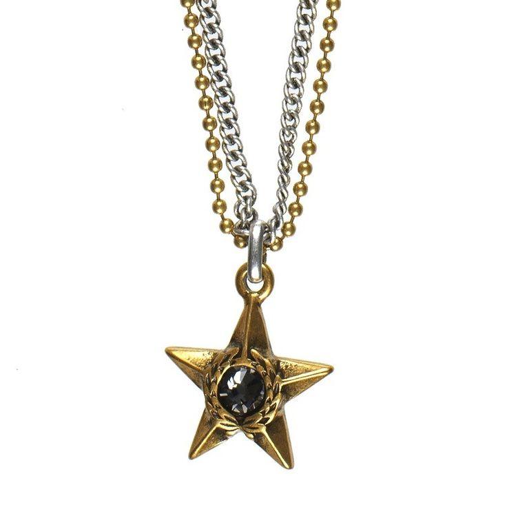Hultquist-Copenhagen Majestic Star Necklace - BiColour