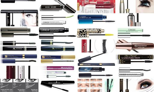 complete list of tube mascara's. waterproof or water resistant