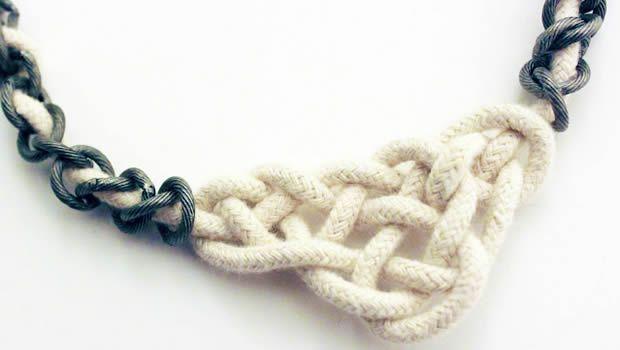 Sélection de tutos   Bijoux & accessoires en nœuds marins noeud collier2