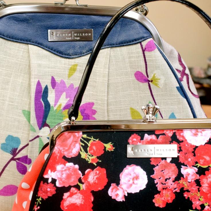 Pirouette Bag and Jubilee Purse by Karen Wilson Hand Bags.
