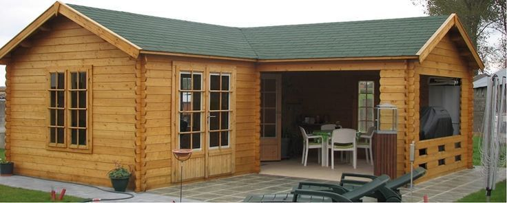 Large L Shape Garden Building By Cotswold Garden Buildings Building Buildings Building B Garden Buildings Pool House Ideas Backyards Large Summer House