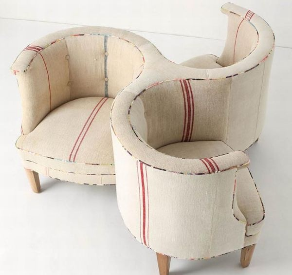 Three seater Axel dofa by Anthropologie