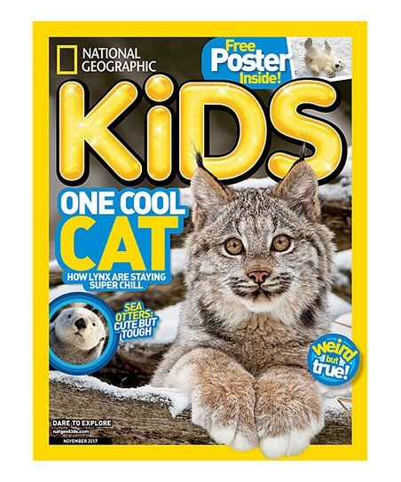 Mailbox Must-Haves National Geographic Kids Magazine Subscription | zulily