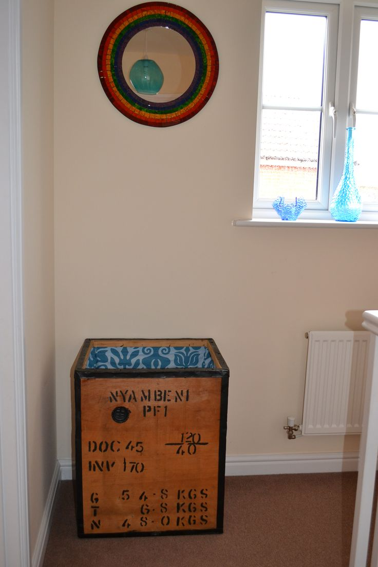 Lovely Upcycling An Old Tea Chest