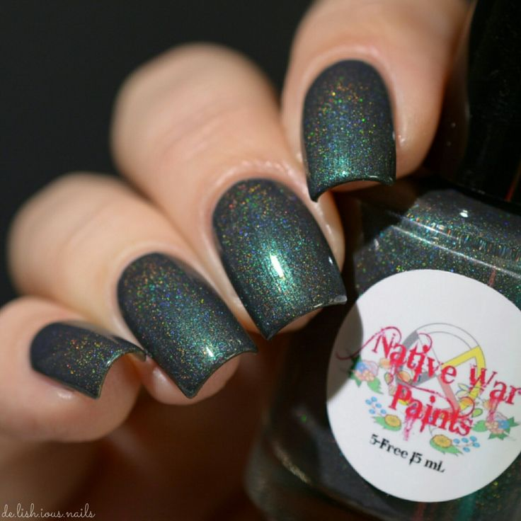 Girly Bits shop exclusive (Altostratus) by Native War Paints. Avail  Feb 17 at www.girlybitscosmetics.com