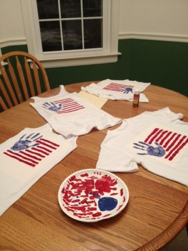 Independence Day Shirts | Summer Fun @dmhyde This would be fun for the kids this weekend!
