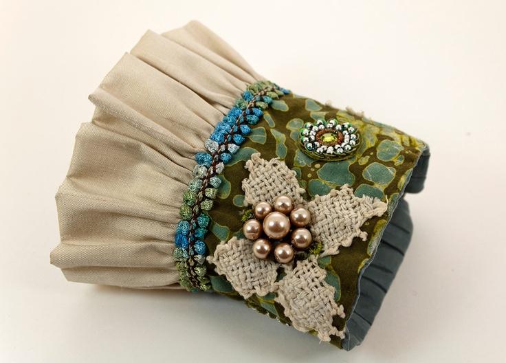Your Gypsy Soul Fashion Cuff, Boho Chic Fabric Cuff. $54.00, via Etsy.                                                                                                                                                                                 More                                                                                                                                                                                 More