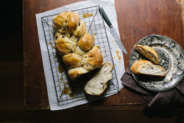 This yeast bread, known as houska to Bohemians and Czechs, chalka to Poles, and challah to Jews, is slightly sweet and rich, like French brioche.