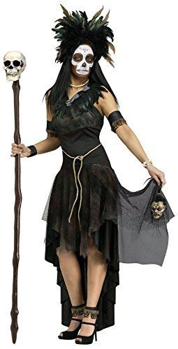 Voodoo Priestess Costumes - Ready-made and DIY costume options and makeup tutorials.