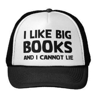I Like Big Books Mesh Hat