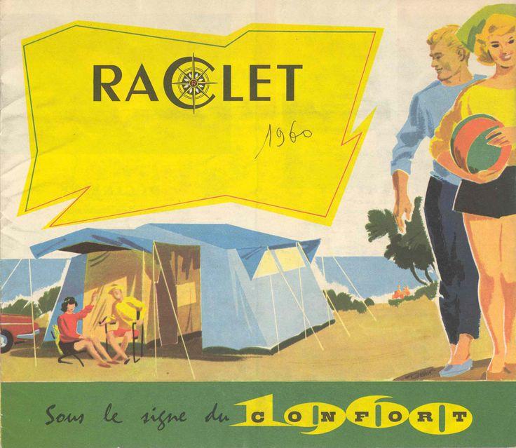 Raclet est une marque de tentes de camping du groupe Trigano