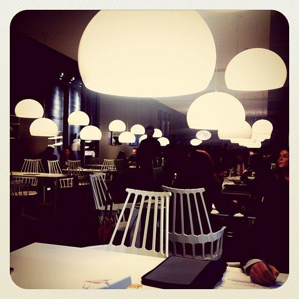 Salone 2013   #Goodmorning! Back to work at #kartellgalleria #mdw13 #milandesignweek #salone #milano Web