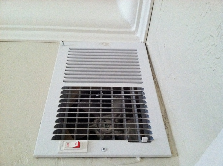 Installed A Vent Fan To Circulate Wood Stove Heat Via The