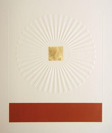 PATRICK SCOTT Print, 23.5 carat gold leaf, edition of 75, €2,000