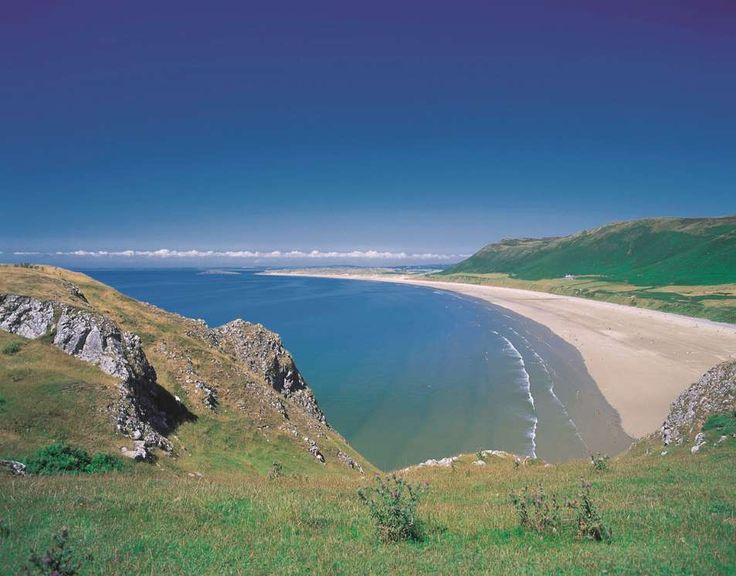 Rhossili Bay Gower, South Wales - visitswanseabay.com