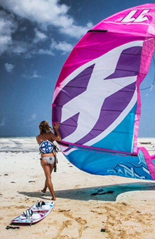 F one Bandit 7 Collection kite surf girl by adoscool.com 2015 Make sure to check out http://www.talic.com for the best kitesurfing storage rack