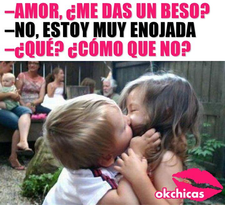 Esos besos son los mejores!