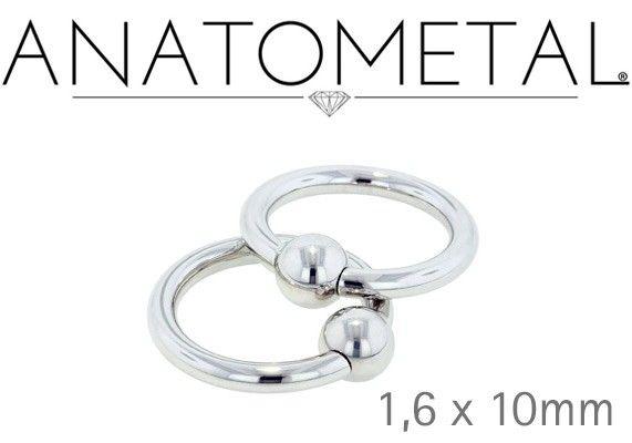 ANNEAU DE PIERCING ANATOMETAL ® - 1.6X10MM http://www.aiapiercing.com/collections/anatometal/anneau-de-piercing-anatometal-r-1-6x10mm Bijou de piercing Anatometal ®. Ce bijou de très haute qualité est fabriqué aux Etats Unis par la célèbre marque pionnière en matière de bijou pour le piercing. Ce bijou est composé de titane 6AL4VELI ASTM F-136, un titane implantable de très grande qualité poli à la main. #anneau #piercing #piercinganneau #anatometal