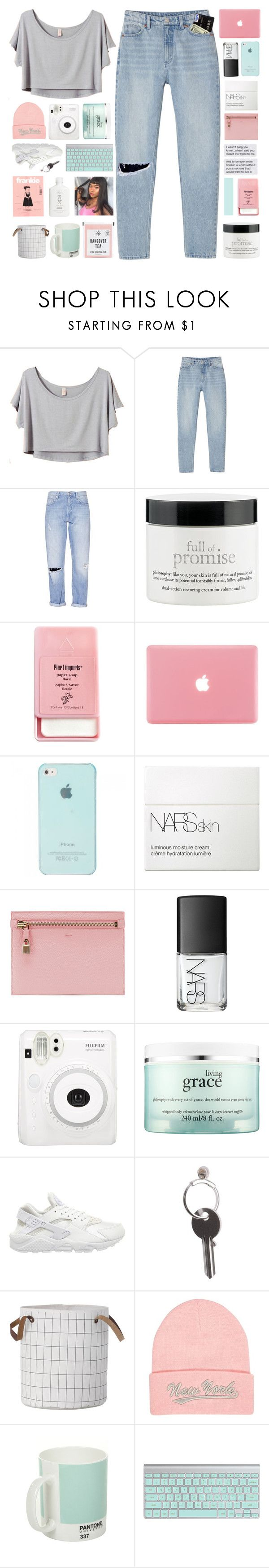 """""""SABAD X SAMIRA"""" by samiikins ❤ liked on Polyvore featuring Monki, French Connection, philosophy, Pier 1 Imports, NARS Cosmetics, Tom Ford, Fuji, NIKE, Maison Margiela and River Island"""