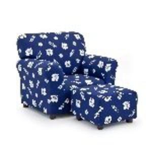 Toronto Maple Leafs Kid's Chair and Ottoman Set