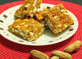 I Believe I Can Cook: Peanut Chikki / Peanut Brittle