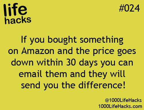 Amazon's Secret Price Guarantee... not sure if this is fact but a reminder to ck it out