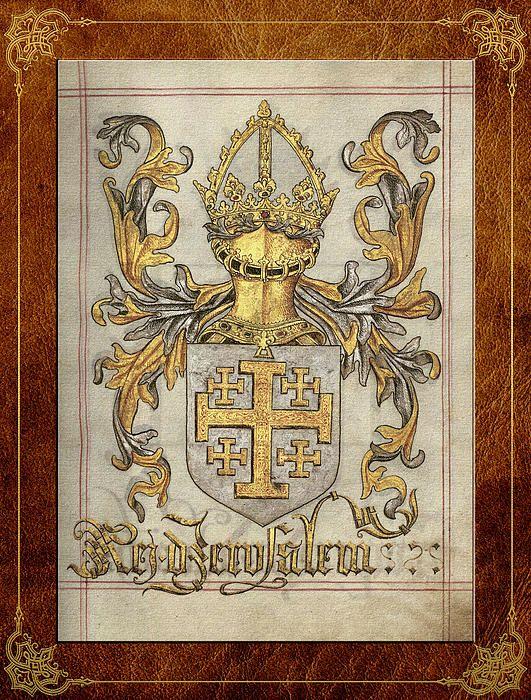 Kingdom of Jerusalem Medieval Coat of Arms