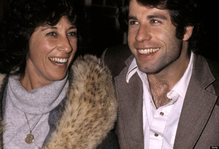 John Travolta and sister actress Ellen Travolta in 1979.