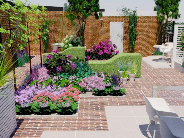 297 best images about tuin borders on pinterest gardens for Tuinontwerp amstelveen