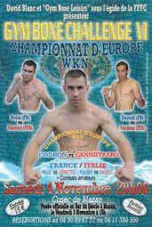 #GymBoxeloisirs 6 Fullcontact 2006 Championnat d'Europe #WKN #Codron vs #Canestrario Mazan Vaucluse France