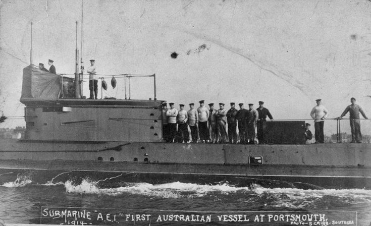 Australian Navy Submarine HMAS AE1 was lost in 1914 and located after 103 years off New Guinea. December, 2017.