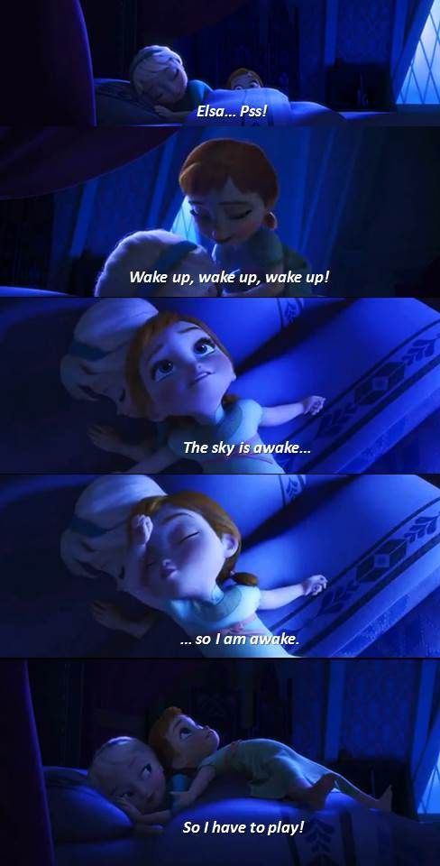 #frozen so adorable! one of the best movies!